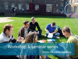 Workshop  seminar series