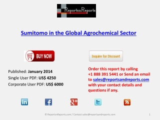 Insights on Sumitomo in the Global Agrochemical Sector