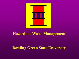 hazardous waste management  at bowling green state university