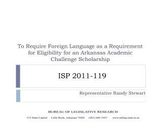 ISP 2011-119