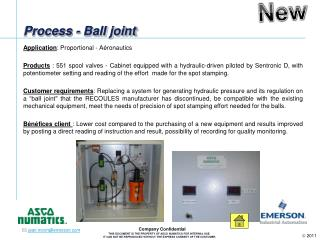 Process - Ball joint