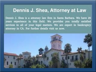 Bankruptcy Attorney in Santa Barbara