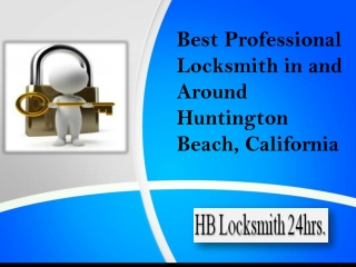 Best Professional Locksmith in  Huntington Beach, CA