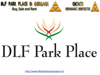 Dlf Park Place in Gurgaon