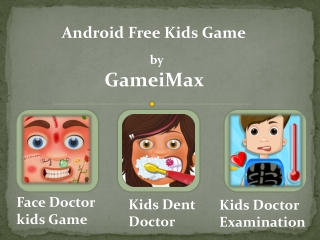 Free Android Games for Kids