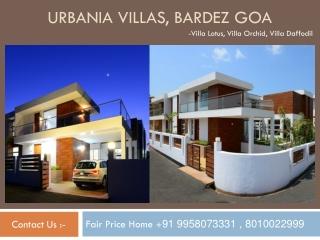 Urbania Villas For Sale in Goa