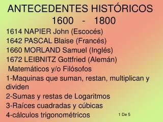 ANTECEDENTES HIST RICOS