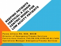 keeping patients vertical: a chair centric model for low acuity patients