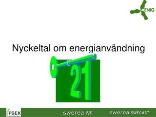 Nyckeltal om energianv ndning
