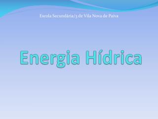 energia h drica