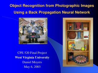 Object Recognition from Photographic Images Using a Back Propagation Neural Network