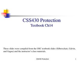 CSS430 Protection