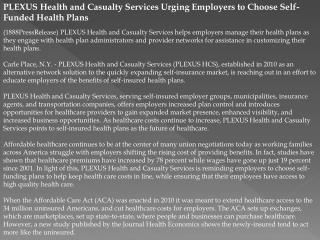 plexus health and casualty services urging employers to choo