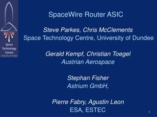 SpaceWire Router ASIC