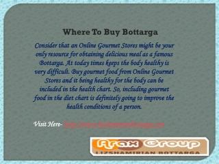 Online Gourmet Stores