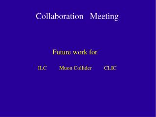 Collaboration   Meeting