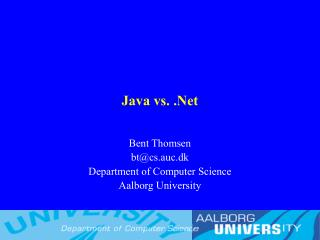 java vs. .net