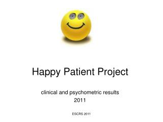 Happy Patient Project