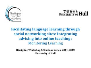 Facilitating language learning through social networking sites: Integrating advising into online teaching : Monitoring L