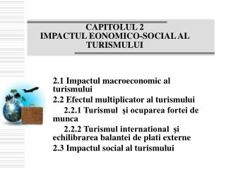 CAPITOLUL 2 IMPACTUL EONOMICO-SOCIAL AL TURISMULUI