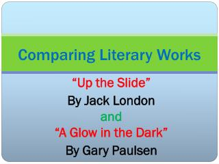 comparing literary works