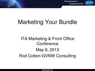 Marketing Your Bundle