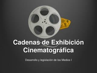 Cadenas de Exhibici n Cinematogr fica