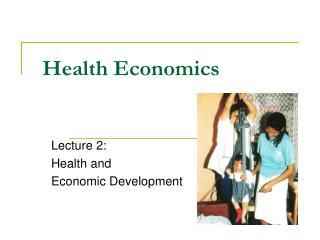 Health Economics