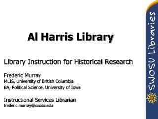 Al Harris Library