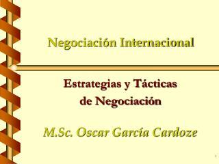 Negociaci n Internacional