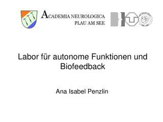 Labor f r autonome Funktionen und Biofeedback