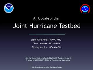 Joint Hurricane Testbed