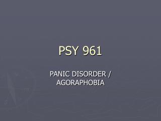 PSY 961