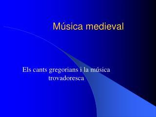 M sica medieval