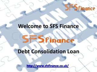 SFSfinance - Debt consolidation Loan