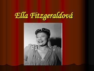 Ella Fitzgeraldov