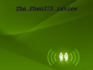 The Phen375 -Ingredients and Side Effects