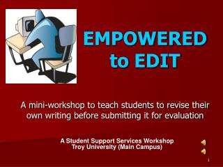 EMPOWERED to EDIT