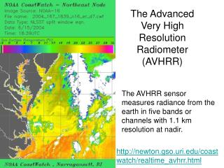 The Advanced Very High Resolution Radiometer AVHRR