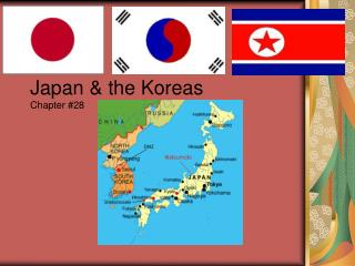 Japan  the Koreas Chapter 28