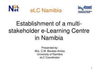 Establishment of a multi-stakeholder e-Learning Centre in Namibia