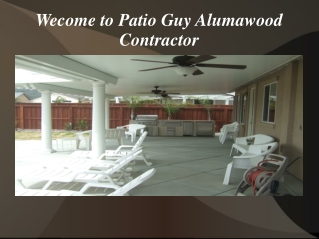 Lattice Alumawood Patio Covers