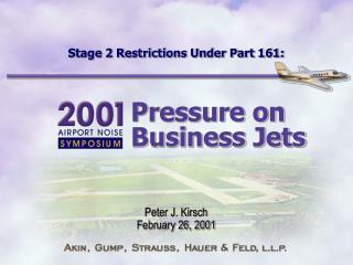 Stage 2 Restrictions Under Part 161: