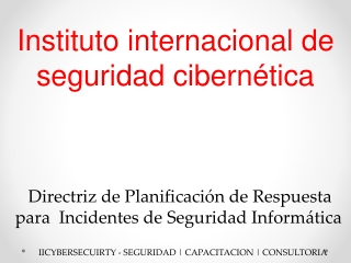 Curso de Seguridad Informatica en Mexico