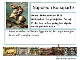 Napol on Bonaparte