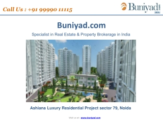New project launch in Noida by Ashiana Developers