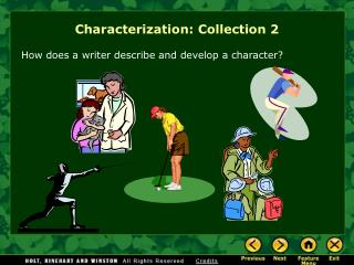 Characterization: Collection 2