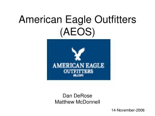 American Eagle Outfitters AEOS