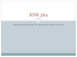 KNR 364