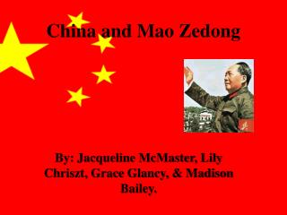 China and Mao Zedong